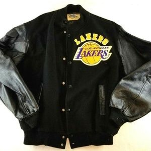 Los Angeles LA Lakers Vintage Varsity Jacket XL